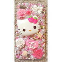 Hello Kitty iPhone 4/4s Snap On Case by myfrostedcupcakee on Etsy