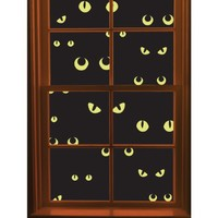 Martha Stewart Crafts Window Cling, Scary Eyes   AihaZone Store