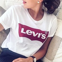 Levi's Based all-match Classic Logo T-shirt