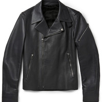 Balenciaga - Leather Biker Jacket | MR PORTER
