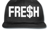 FRESH EMBROIDERY HAT - Snapback Hat