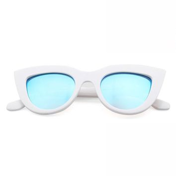 Cece Sunglasses // White