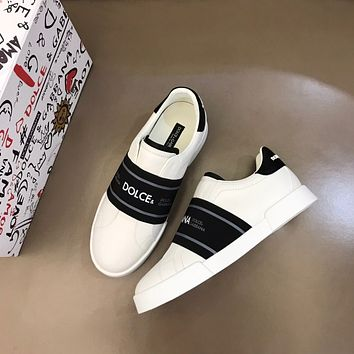 Dolce&Gabbana 2021Men Fashion Boots fashionable Casual leather Breathable Sneakers Running Shoes07300cx