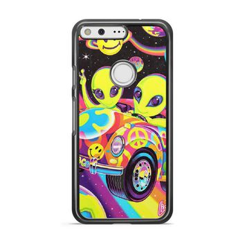 Lisa Frank Neon Tiger And Monkey 90 S Google Pixel 3 XL Case | Casefruits