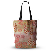 """Marianna Tankelevich """"Summer Music"""" Red Orange Everything Tote Bag"""