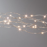 6Ft Multi Strand Fairy Lights - Indoor/Outdoor - Multi Function Warm White Micro Lights