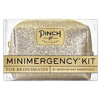 Minimergency Kit for Bridesmaids - Champagne Glitter