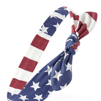 Stars and Stripes Bow Headwrap