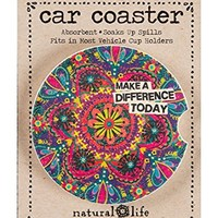 Natural Life Car Coaster Make A Difference Today