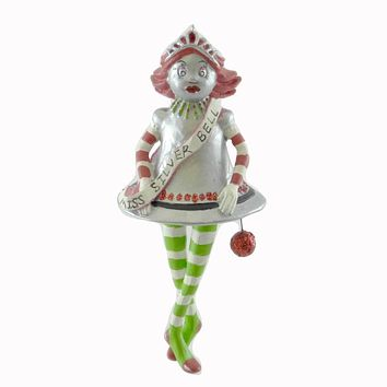 Holiday Ornament GLITTERVILLE MINI ORNAMENT Resin Christmas 29108 BELL