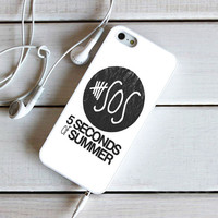 5 Seconds Of Summer 5Sos Logo iPhone 5C Case Sintawaty.com