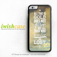 J.R.R Tolkien Quote Not All Those Who Wander Are Lost iPhone 6 Case iPhone 6 Plus Case Cover