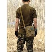 Outdoor Anti-Tear Military Tactical Camping Shoulder Bag Cross Body Belt Sling Bags Laptop Messenger Backpack High Quality