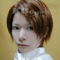 Axis Powers Hetalia APH Austria Short Dark Brown Cosplay Wig + Free Wig Cap