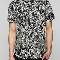 adidas Blue Jungle Button-Down Shirt - Urban Outfitters