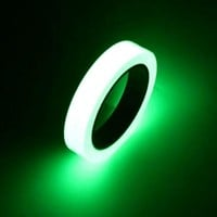 10mm * 10m High Brightness LED Strips Self-adhesive Warning Tape Night Vision Glow In Dark Safety Security Home Decor Tapes