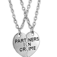 Partners in Crime BFF Necklace