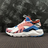Nike Air Huarache Run Ultra Parra White / Multe Color Sport Running Shoes