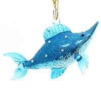 Holiday Ornaments SWORDFISH Glass Ocean Christmas Broadbills 4053961
