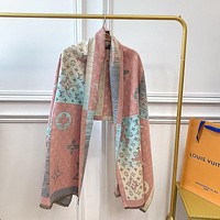Louis Vuitton Men's and Women's Fashion Accessories Warm and Comfortable Cashmere Sweater Scarf Size: 180*65