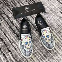 Philipp Plein Men Fashion Casual Sneakers Sport Shoes Size 38-44