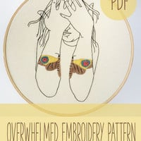 Embroidery Patterns,  Hand Embroidery Patterns, Modern embroidery patterns