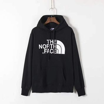 THE NORTH FACE Men Fashion Splicing Print Long Sleeve Hoodie Pullover Sweater G-ZDL-STPFYF-1