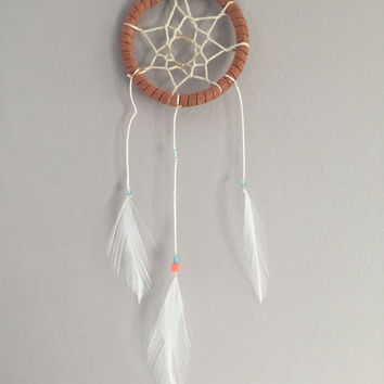 The Wanderer ~ Small Dream Catcher Perfect for Car Mirrors!