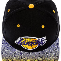 The Los Angeles Lakers Court Vision Snapback in Black
