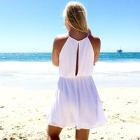 Marigold Dress In Ivory