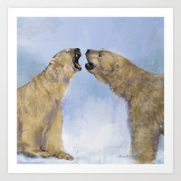 An old fashioned love song                                Art Print by Mary Kilbreath