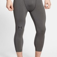 Men's Under Armour HeatGear Three Quarter Length Compression Leggings