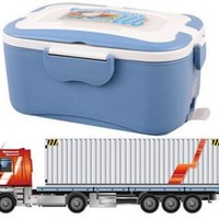 1.5L electric food heating lunch box 304 food grade stainless steel 220V in house or 12V in car or 24V in truck