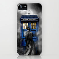 Tardis doctor who lost in the Mist apple iPhone 3, 4 4s, 5 5s 5c, iPod & samsung galaxy s4 case