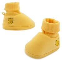 Licensed cool Disney Store Winnie-the-Pooh bear Baby Costume Shoes Slippers 0-6M 6-12M 12-18M