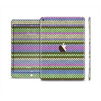 The Colorful Knit Pattern Skin Set for the Apple iPad Air 2