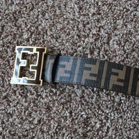 Gotopfashion Brown Fendi Belt