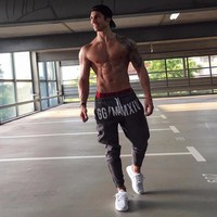Brand Gyms Men Joggers Casual Men Sweatpants Joggers Pantalon Homme Trousers Sporting Clothing Bodybuilding Pants