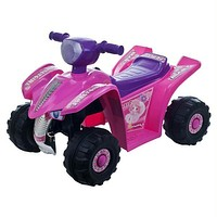 Lil' Rider? Pink Princess Mini Quad Ride-on Car Four Wheeler