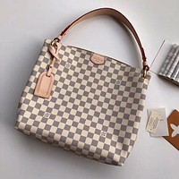 LV Louis Vuitton WOMEN'S DAMIER CANVAS GRACEFULL HANDBAG SHOULDER BAG