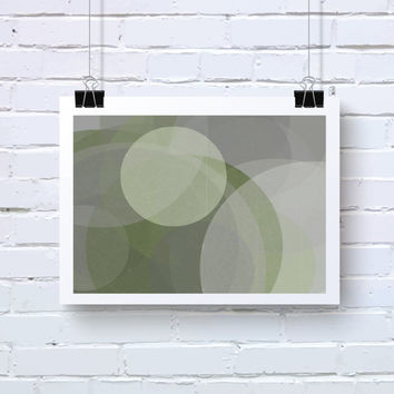 Abstract Generative Art based on Mathematics and Geometry. Mystic Rose 040_9aaaz. Olive green, grey taupe and white.