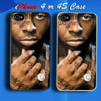 Lil Wayne Custom iPhone 4 or 4S Case Cover