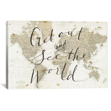 Get Out and See the World by Sara Zieve Miller 40x26