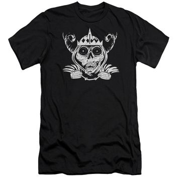 Adventure Time - Skull Face Short Sleeve Adult 30/1 Shirt Officially Licensed T-Shirt