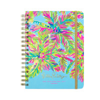 Lilly Pulitzer Large 17 Month Agenda-Island Time