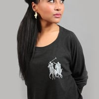 Women's Assassin Pull Over Gray by Breezy Excursion   Karmaloop.com - Global Concrete Culture