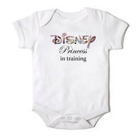 Disney Princess in Training Funny Onesuit Bodysuit