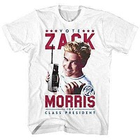 Mens Saved by The Bell Vote for Zack T-Shirt