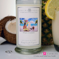 Pi̱a Colada Jewelry Candle - Limited Jewels & Ring Sizes!