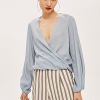 Casual Drape Top - Shirts & Blouses - Clothing